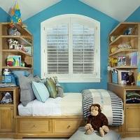 北欧风格儿童房设计装修效果图