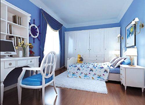 时尚靓丽地中海风儿童家具