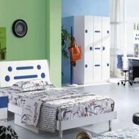 时尚靓丽地中海风儿童家具装修效果图