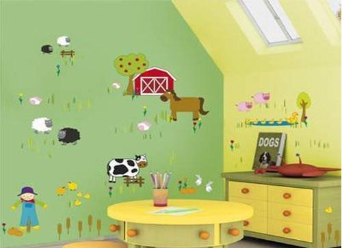 小卧室的梦幻背景墙设计装修效果图