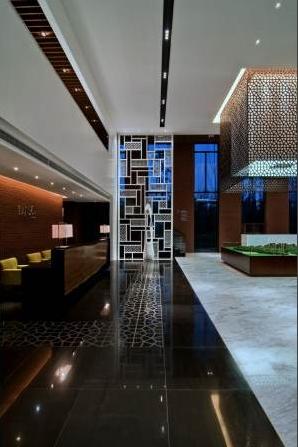 现代风格售楼部装饰装修效果图