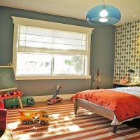 现代交换空间儿童床装修效果图