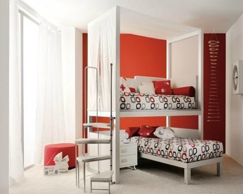 英式风格儿童房交换空间装修效果图