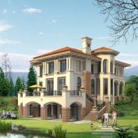 西班牙风格独栋别墅美图装修效果图