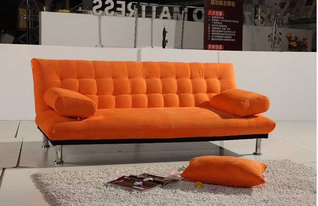 现代简约沙发床装修效果图