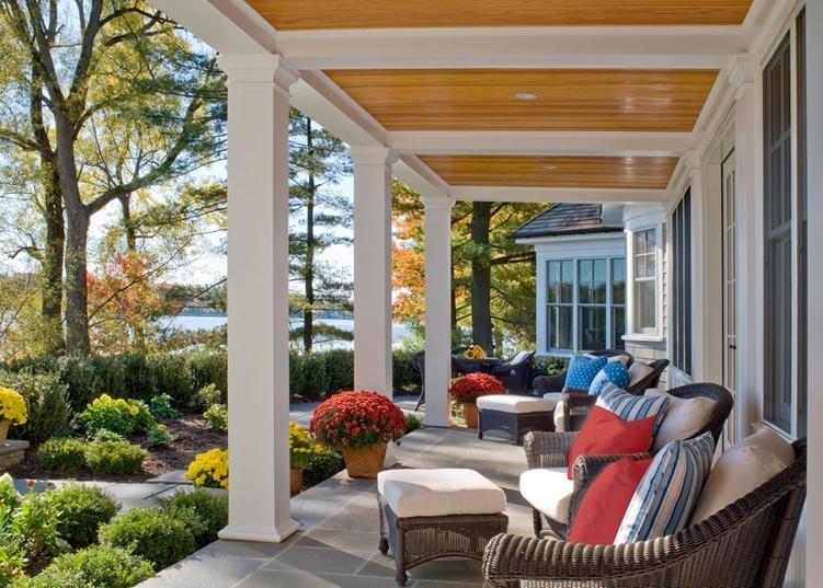 一室一厅田园风格花园入户花园