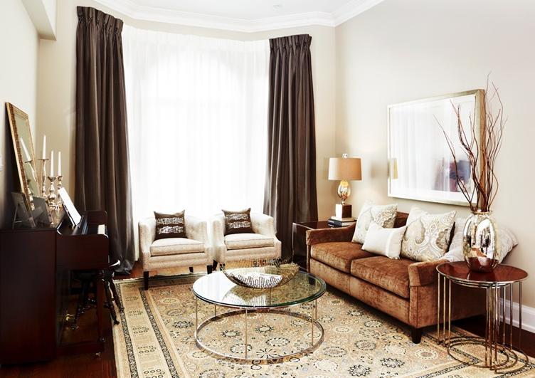 一室一厅北欧风格客厅
