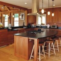 哥特风开放式厨房装修效果图