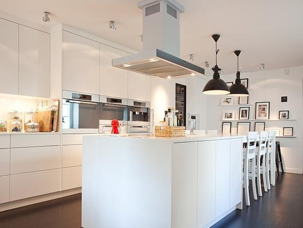大戶型家居的開放式廚房設計裝修效果圖