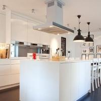 大户型家居的开放式厨房设计装修效果图