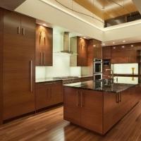 法式风格开放式厨房装修效果图