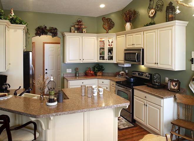 三室两厅北欧风格厨房开放式厨房_北欧风格的厨房美图欣赏图片