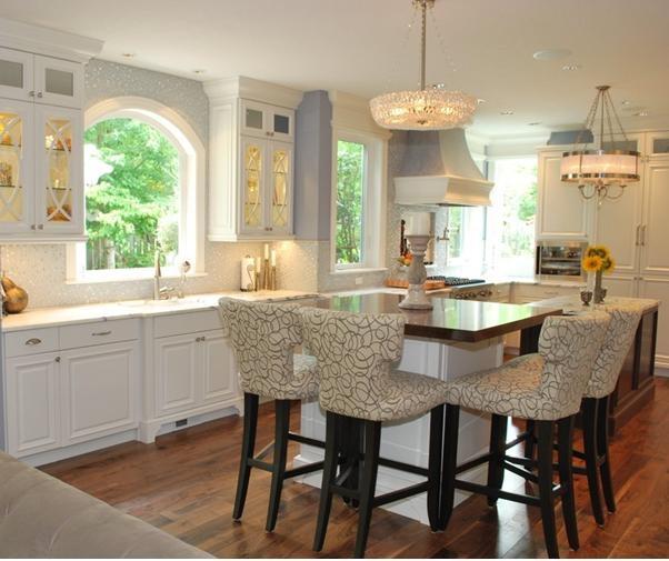 古典風格廚房櫥柜裝修效果圖