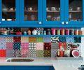 开放式厨房颜色巧搭配装修效果图