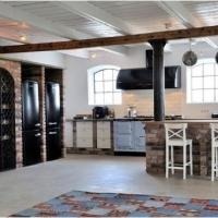 混搭风格开放式厨房大全装修效果图