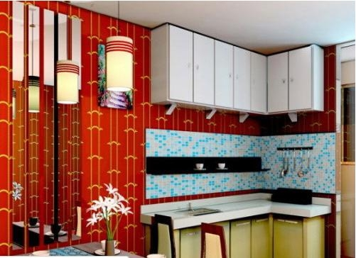 厨房欣赏 厨房大全装修效果图