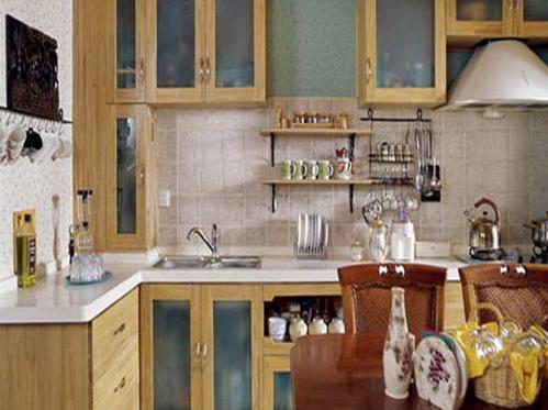 家居之开放式厨房颜色巧搭配装修效果图