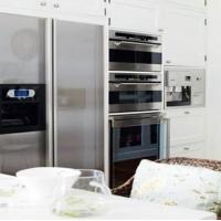 白色纯洁演绎唯美开放式厨房装修效果图