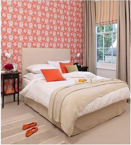 三居室法式风格卧室卧室背景墙