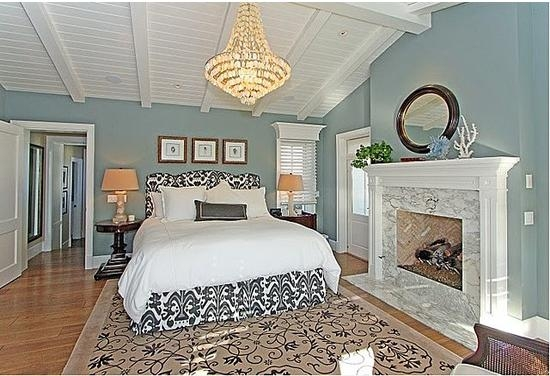 温馨舒适卧室背景墙装修效果图