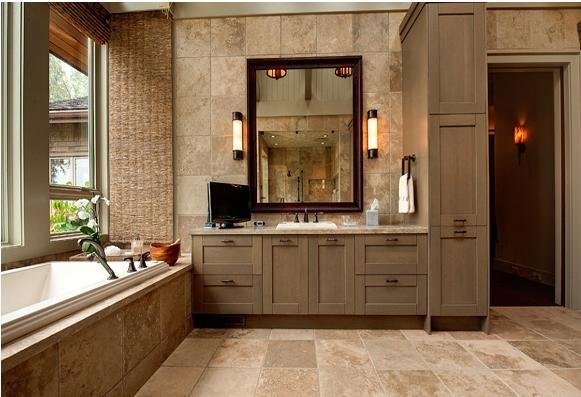 一室一厅美式风格卫生间