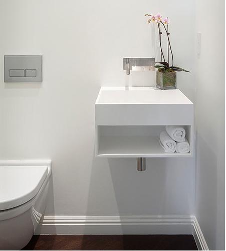两室一厅北欧风格厕所