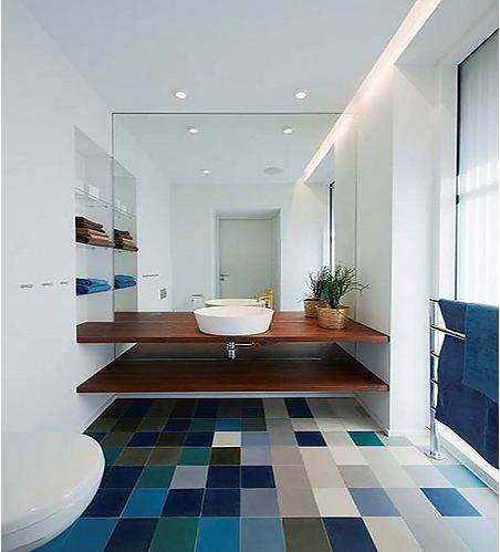 两室两厅北欧风格厕所