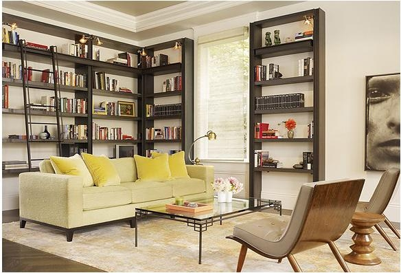 三居室新古典书房