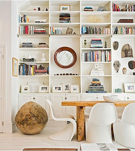 书柜 书柜 书房 书房装饰装修效果图