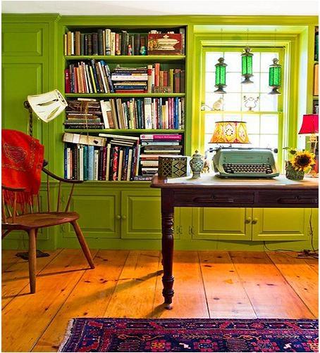 新古典主义书房装修效果图
