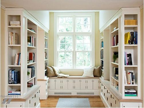 哥特风格书房装修效果图