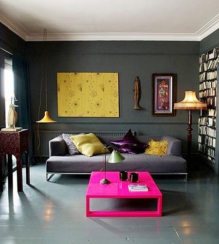 白领公寓波普风格书房