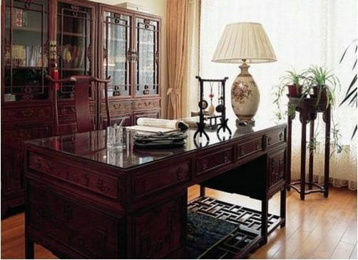 单身公寓日式风格书房