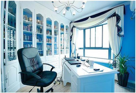四居室地中海风格书房