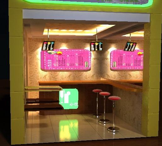打造欧式饮料店装修效果图