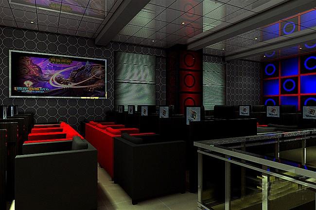 网吧 网吧装修效果图