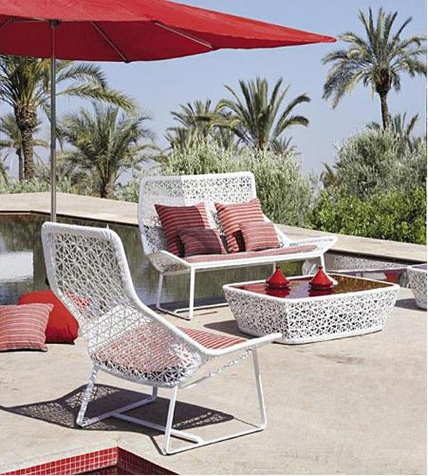 海景别墅 海景别墅设计方案 花园案例 沙发床 装修效果图
