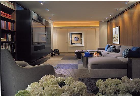 美式风格新古典电视背景墙装修效果图图片