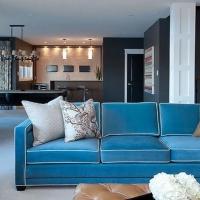 风格迥异客厅装修效果图