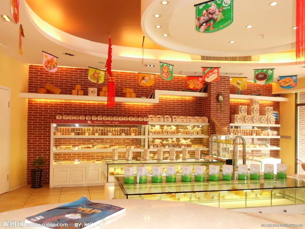 打造高雅蛋糕店设计