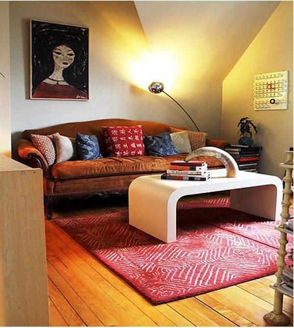 经典小居室客厅装修效果图