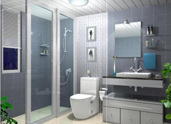 卫生间水管的安装步骤装修效果图