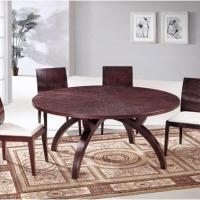 创意中式餐桌椅设计装修效果图