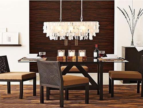 红木家具打造餐厅时尚装修效果图