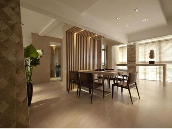 红木家具装饰简约中式餐厅装修效果图