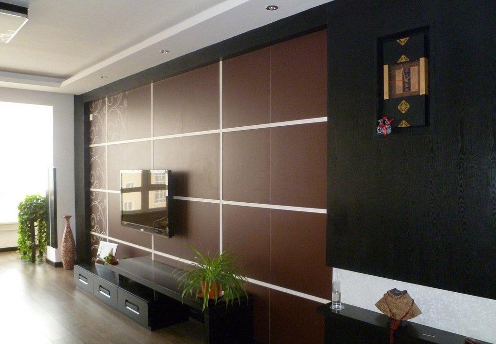 中式风格电视墙优雅设计