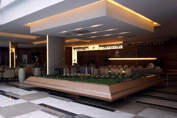 混搭式售楼中心设计装修效果图