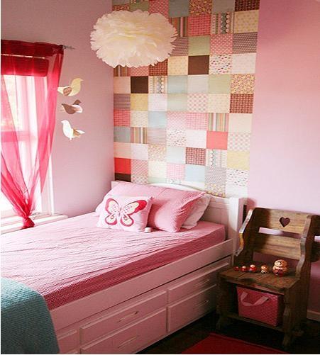 甜美儿童房设计_粉红的公主梦装修效果图