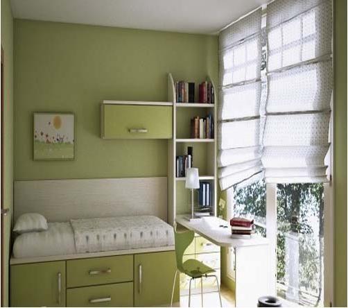 绿色装扮温馨儿童房装修效果图