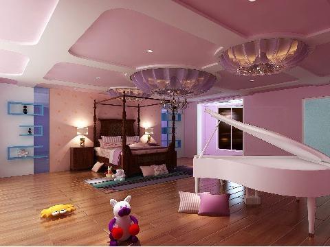 创意复式儿童房设计装修效果图